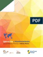 Operación y Mantenimiento SPE and ASOLMEX