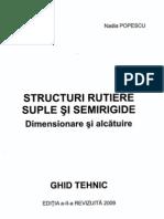 Structuri Rutiere Suple Si Semirigide - Dimension Are Si Alcatuire