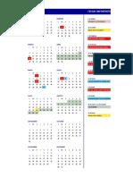 calendario 2019A