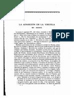 FERNANDEZ Y GONZALEZ_La Aparicion de La Viruela en Arabia_Revista de Ciencias Historicas, V, 1887