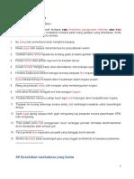 Latihan Sistem Bahasa PT3 (Soalan)