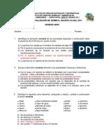 2011 - Nivel Cero Verano QUIMICA B VERSION 0 Segundo Examen.pdf