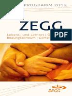ZEGG Jahresprogramm 2019