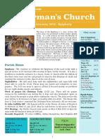 st germans newsletter - 6 january 2019