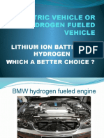 Electric Vehicle and Hydrogen Vehicle