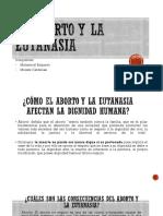 El Aborto y La Eutanasia Expo 10-2
