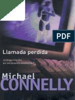 Llamada Perdida - Michael Connelly