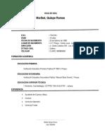 CV Maribel Nilda