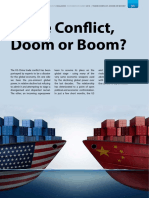 US China Trade Conflict - Doom or Boom