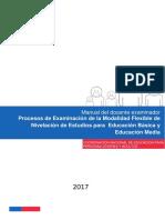 Manual Del Docente Examinador MF 2017