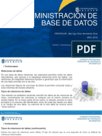 Admin Bd - Diagramas