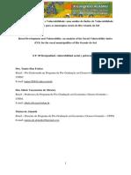 2018 Índice de Vulnerabilidade Social IPEA