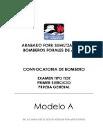 51815063 Examen Bombero Especialista Madrid 2009