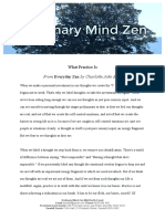 Ordinary Mind Zen (2018) What Practice Is