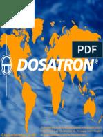 Dosatron - Comparativo Sistema de Dosagem