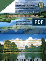 Clasificaion de Climas