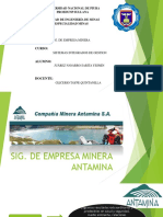SIG. Empresa Antamina