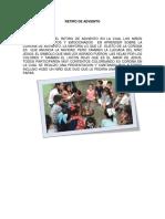 Retiro de Adviento 2018 Instituto Huixtla