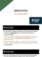 Aula 02 Bilbiologia Ensinai
