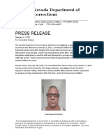 Dozier Suicide statement from NDOC