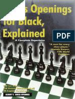 Alburt Et Al - Chess Openings for Black, Explained