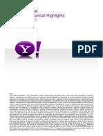 Yahoo! Q3 2010 Earnings Presentation