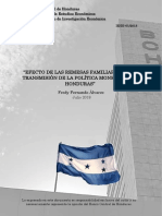 201807 Efecto Remesas en Transmision Politica Monetaria