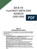 15. BAB VII Penyakit Mata Dan Adnexa