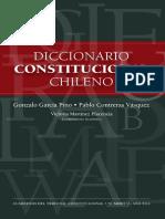García Pino y Contreras , Diccionario Constitucional Chileno