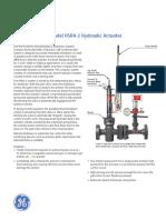Model Hsra-2 Hydraulic Actuator Tb