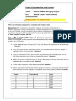 SIM335 Assessment Brief January19