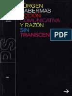 Habermas, Acción comunicativa y razón sin trascendencia.pdf