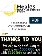 Heales Scientific News 9th of December 2018