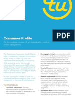Product Consumer Profile As