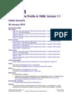 TOSCA Simple Profile YAML v1.1 Os