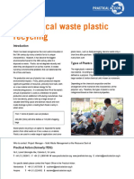 Mechanical Waste Plastic Recycling-TB