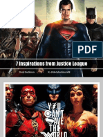7 Inspirations From Justice League