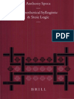 HYPOTHETICAL SYLLOGISTIC AND STOIC LOGIC .pdf
