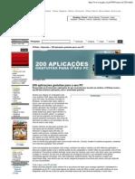 PCGuia aplicacoes