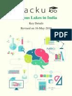 lakes in india.pdf