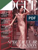 c30e4e5584b96 British Vogue - July 2018   Vogue (Magazine)   Fashion