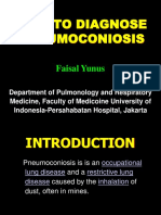 DIAGNOSIS OF PNEUMOCONIOSIS.ppt