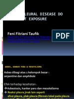 FINAL Benign Pleural Disease Do to Asbest Exposure