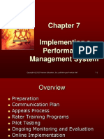 PM Chapter 7 - Implementing a PM System