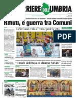 La Rassegna Stampa Nazionale e Regionale Dell'Umbria Del 6 Gennaio 2019
