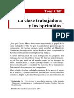 La clase trabajadora y los oprimidos