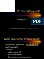 Origin of Life Presentation 09-10 KR