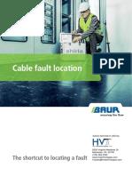 HVT Product Brochure Cable Fault Location