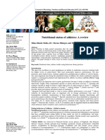 Nutritional Status of Athletes