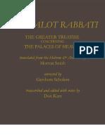 Don Karr. Каббалистические работы, заметки и трактаты.